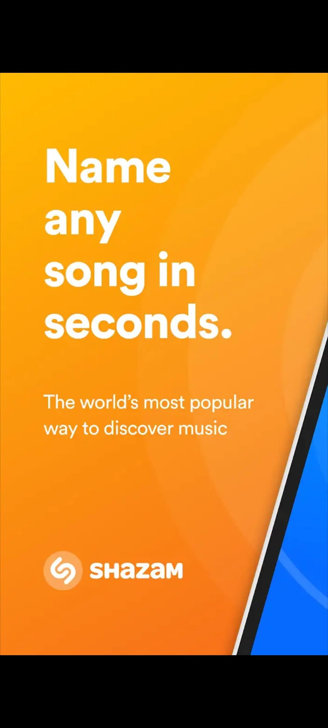 Shazam find songs