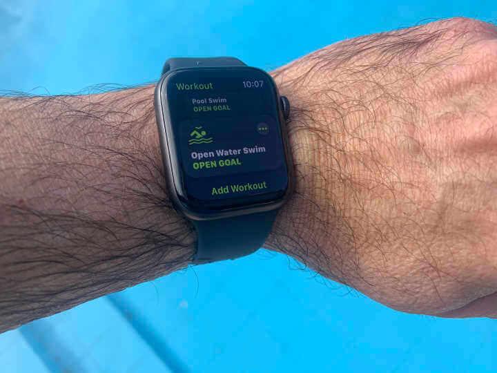 Apple iwatch swim tracker