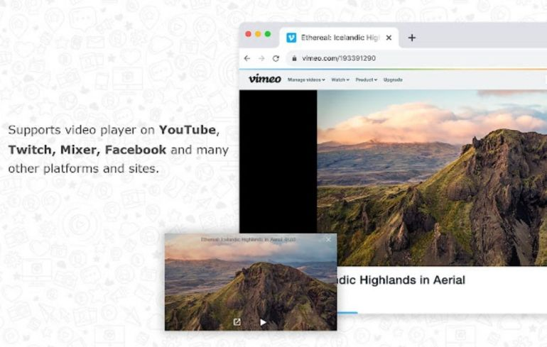 Picture-in-Picture Chrome Extension that will save you time